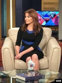Maite Luna, presentadora de Radio y Televisión Martí.