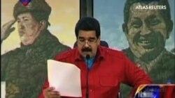 Maduro critica a Washington tras la aprobación de nuevas sanciones