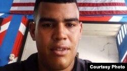Guillermo Álvarez, uno de los cubanos liberados de la estación migratoria de Tapachula