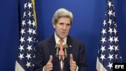 Conferencia de prensa de John Kerry