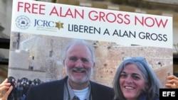 Exigen libertad de Alan Gross