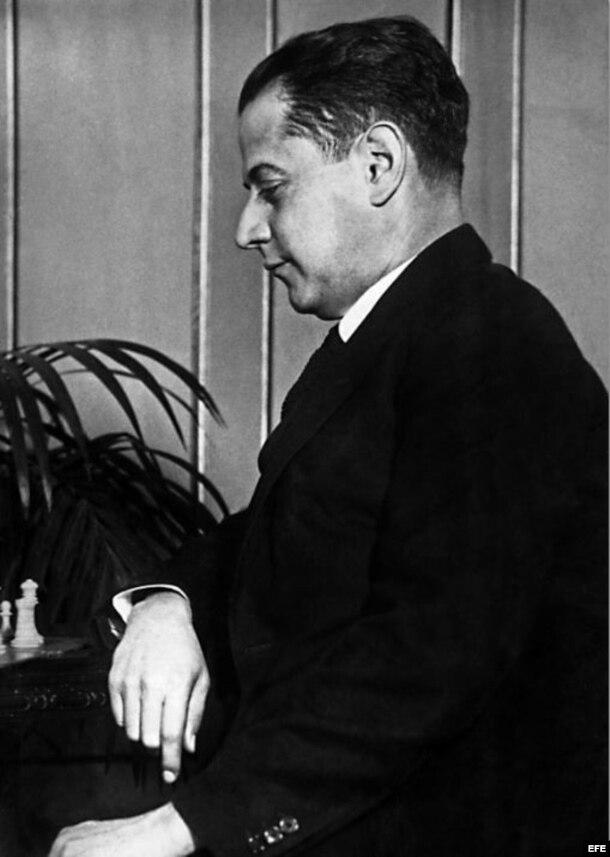 José Raúl Capablanca.