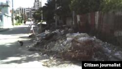 Reporta Cuba Calles basureros Habana Foto @lirianocuba