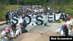Miami: Muestra de apoyo a estudiantes venezolanos