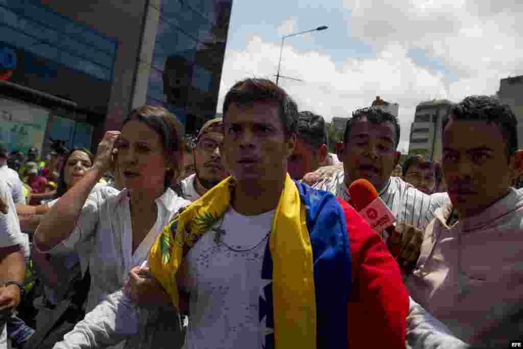 """""""No me voy a ir de Venezuela nunca"""", dijo antes de entregarse."""