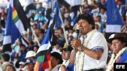 Evo Morales acepta la candidatura de su partido para las presidenciales del 2019.