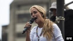 Lilian Tintori pide ayuda internacional para libertad de Leopoldo López