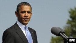 Fotografía de archivo del presidente de Estados Unidos, Barack Obama.