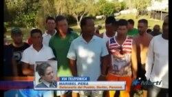 Funcionarios panameños gestionan traslado de migrantes cubanos a la capital