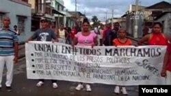 Represión en Gibara, La Habana y San Antonio de los Baños; entrevista con el activista Lázaro Montesinos