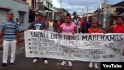 Tres opositores santiagueros acusados de desorden público