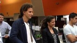Rosa María Payá y Orlando Luis Pardo Lazo visitan los Martí