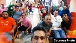 """Medio centenar de migrantes cubanos han sido acogidos en el centro de rehabilitación """"Barrios para Cristo"""" de Nuevo Laredo."""