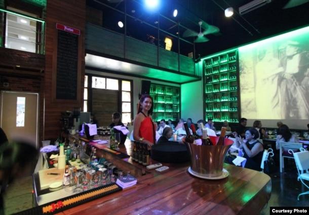El restaurante VIP Havana, en el Vedado habanero, es copropiedad del empresario gallego Víctor Moro Suárez (Tripadvisor).