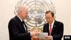 Expertos de la ONU hallan posible uso de armas químicas en cinco lugares