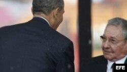 Opiniones en Cuba sobre saludo de Barack Obama a Raúl Castro