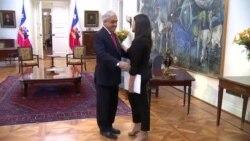 Presidente de Chile recibe a Rosa María Payá