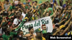 Pinar del Río celebra su triunfo.