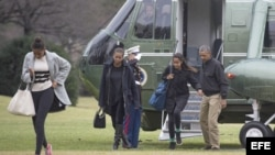 Obama regresa a Washington D.C.