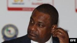 El presidente de la CONCACAF, Jeffrey Webb.