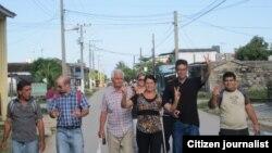 Activistas esperan Día Internacional de los Derechos Humanos