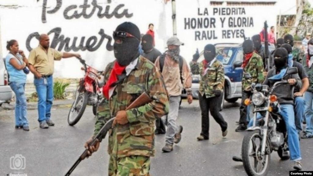 Los colectivos son milicias armadas obtenidas entre lo peor de la sociedad venezolana.