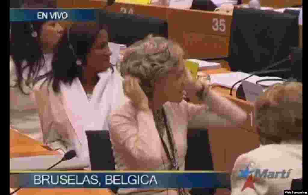 Damas de Blanco recogen el premio Sajarov en Bruselas