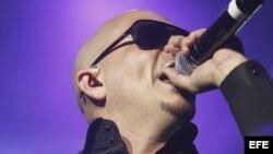El cantante estadounidense de origen cubano Armando Christian Pérez (Pitbull).