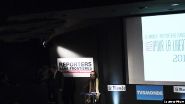 RSF presenta informe del 2012