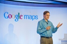 Brian McClendon, Vice President de Ingeniería de Google Maps.