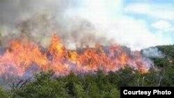 Incendio en Cuba.