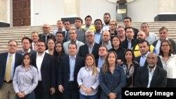 Diputados opositores ya están en la AN para sesión de destitución de magistrados.