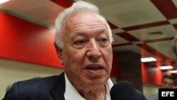 José Manuel García Margallo, ministro español de Asuntos Exteriores.