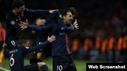 París Saint-Germain salió airoso frente al Chelsea.