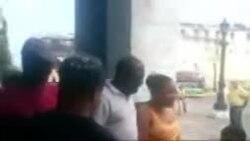 La detención de un ciudadano que reportaba las afectaciones de la lluvia en Habana