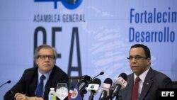 """ALMAGRO VE """"INNECESARIO"""" ABORDAR EL TEMA DE VENEZUELA EN LA ASAMBLEA GENERAL"""