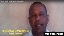 Tomás Núñez Magdariaga, preso político, acitvista de la Unión Patriótica de Cuba (UNPACU).
