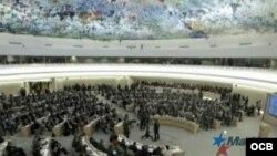 Hemiciclo del Consejo de Derechos Humanos de NU