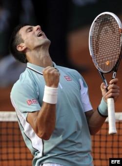 El tenista serbio Novak Djokovic derrotó al alemán Tommy Haas.