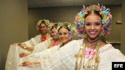 Foto de archivo del Desfile de las Rosas en Pasadena, California.