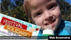 Milo, de 3 años, oriundo de San José del Rincón, en Argentina