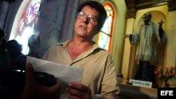El fallecido disidente cubano Oswaldo Payá, gestor del Proyecto Varela.