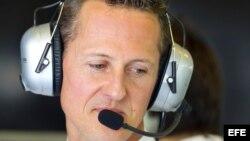 Schumacher tuvo una cirugía de emergencia