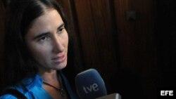 Fotografía de archivo de Yoani Sánchez.