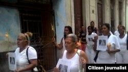 Marcha de Damas de Blanco por Centro Habana