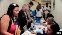 Cubanos en tránsito hacia EEUU. Imagen cedida por el Ministerio de Relaciones Exteriores de El Salvador.