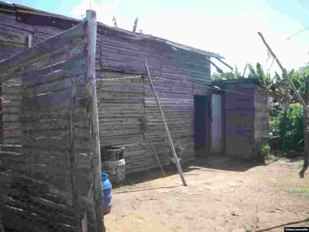 Barrio Angola en Camagüey antes del desalojo.