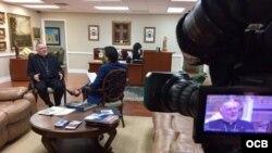 Arzobispo de Miami, Thomas Wenski en entrevista con Ricardo Quintana.