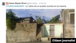 Reporta Cuba A dos años de Sandy @alexunpacu