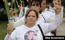Laura Pollán, fundadora del movimiento Damas de Blanco.